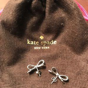 Adorable Kate Spade Bow Earrings